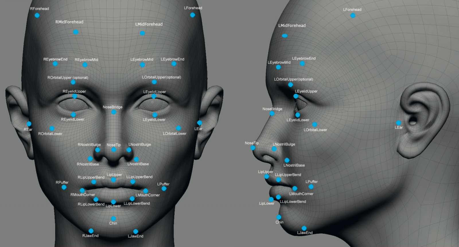 3d facial recognition