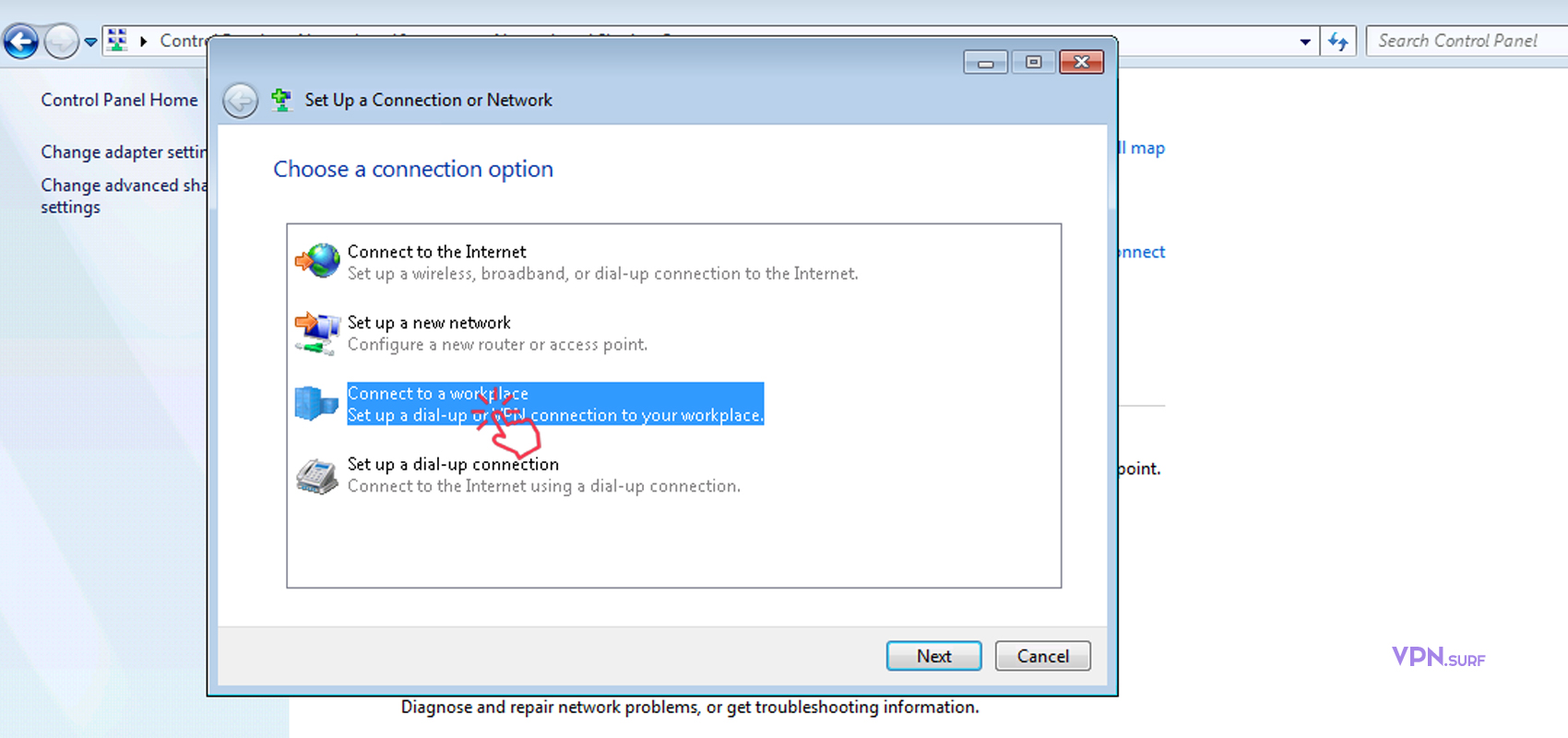 How to Setup a VPN Connection in Windows 7