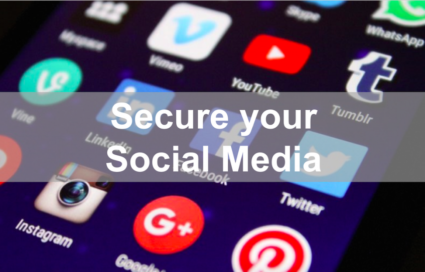 Secure your Social Media